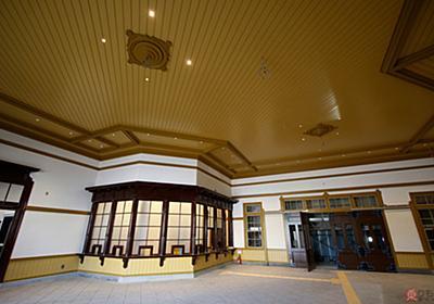 荘厳・貴重な「重文駅舎」復活へ 大正生まれ、復原中の門司港駅舎、内部が公開される(写真40枚) | 乗りものニュース