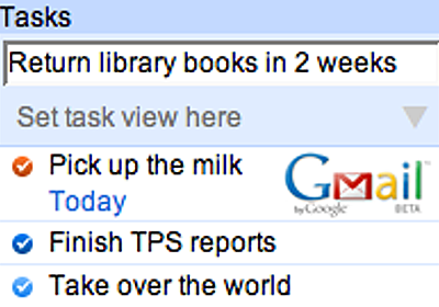 Remember The Milk - Services / Remember The Milk for Gmail