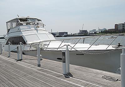 横浜ベイブリッジ沖で遺骨を撒く海洋散骨式 - デイリーポータルZ