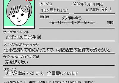 改めての自己紹介とブロガーバトン - わかめ手帖