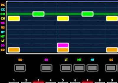 本格ダンスミュージックで遊べるゲームアプリ「TR-REC GAME」-ローランド   マイナビニュース