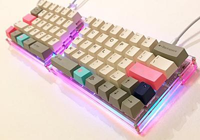 自作キーボード Mint60 の組立て参考例!初心者でもできたよ - syonx