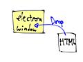 Electronの画面にHTML落とすと、画面が切り替わっちゃうよね - サイト更新停滞ちうっ