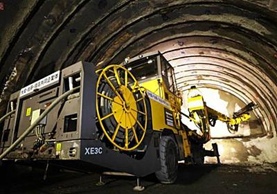 「南アルプストンネル」へ行ってみた リニア中央新幹線 建設工事の注目ポイント   乗りものニュース