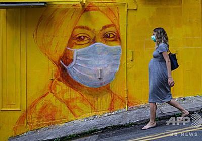 マスクのコロナ感染抑制効果、ハムスター実験で明らかに 香港大 写真3枚 国際ニュース:AFPBB News