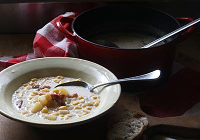 料理初心者にもオススメ!心も身体もホッとするコーンチャウダーのレシピ - メシ通 | ホットペッパーグルメ
