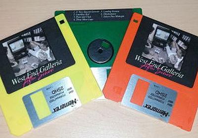 インターネット生まれの音楽「ヴェイパーウェイヴ」はフロッピーディスクで販売されている - GIGAZINE