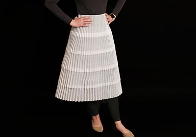 着られる柔軟なスカートを3Dプリンタで印刷 MIT「DefeXtiles」開発:Innovative Tech(1/3 ページ) - ITmedia NEWS