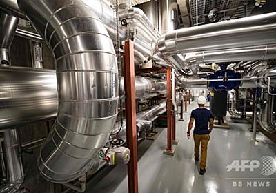 都市冷房の未来? パリ地下を走る送水管ネットワーク 写真12枚 国際ニュース:AFPBB News
