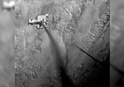 CNN.co.jp : 宇宙ゴミに「銛」撃ち込む実験に成功、映像公開