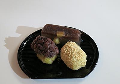 お餅を使って簡単に和菓子作り。さつまいも餅をおはぎ風に - だら~んと今日も乾杯ごはん