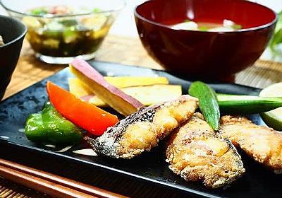 ☆ツナとマイタケの炊き込みごはん&さばの竜田揚げ☆ - うちごはんはマーシャもいっしょ♪