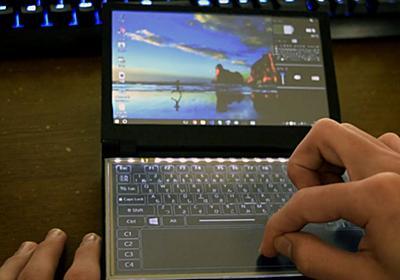 高校生が「PCを学校に持ち込みたくて」Windows10搭載の電子辞書を自作してしまう - GIGAZINE