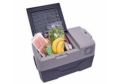 サンコー、-20℃まで設定でき、バッテリー内蔵で手軽に持ち運べる小型冷蔵庫 - 家電 Watch