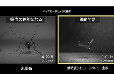 花王、蚊の嫌う肌表面をつくる蚊よけ技術を開発 - Impress Watch