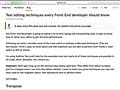 知ってると便利!HTML, CSS, JavaScriptなど、コーディングの作業を快適にするエディタの操作テクニックのまとめ | コリス