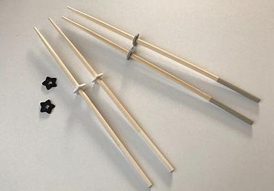 【セリア】モノトーンで星型☆「シリコーン菜箸スタンド」がかわいくて使える♪