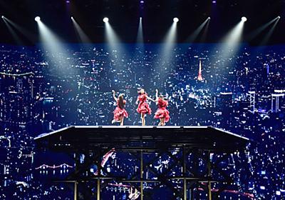 """『天空』に見る、あの頃と異なる""""パーフェクトスター""""/Perfume 7th Tour 2018「FUTURE POP」個人的ガイドライン - mudai:C"""