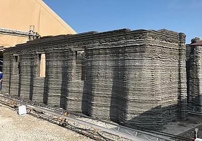 3Dプリンターによりコンクリート製の建物を24時間で建設する技術をアメリカ海兵隊が開発 - GIGAZINE