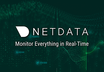 GitHub - netdata/netdata: Real-time performance monitoring, done right! https://www.netdata.cloud