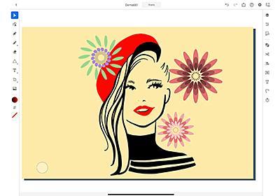 iPad版「Illustrator」正式リリース ~年齢や髪量なども調整可能なAI機能がPhotoshopに追加 - PC Watch