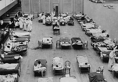 CNN.co.jp : 米の新型コロナ死者数、1918年スペイン風邪を上回る