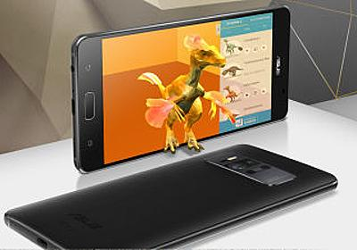 GoogleのAR機能Tango&VR機能Daydreamに両対応の「ZenFone AR」&デュアルレンズの「ZenFone 3 Zoom」登場 - GIGAZINE