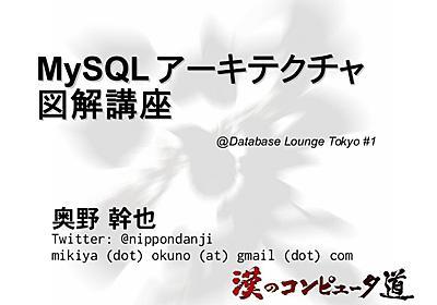 MySQLアーキテクチャ図解講座