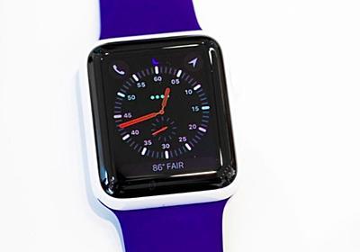 「Apple Watch Series 3」で長電話は禁物--LTE使用時の連続通話は1時間強 - CNET Japan
