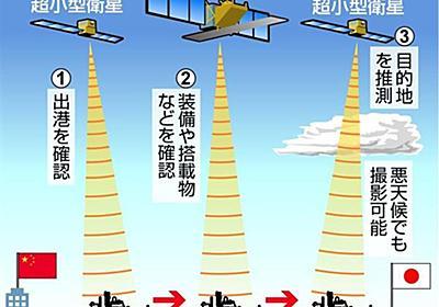 超小型衛星で尖閣監視 政府が検討 中国船の追跡可能に(1/2ページ) - 産経ニュース