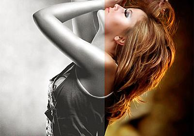 Photoshopで雰囲気たっぷりなモノクロ写真エフェクトをつくる方法 - PhotoshopVIP