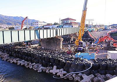8月大雨で被災の飯田線辰野―伊那新町間 11月中旬に再開見通し  信毎web