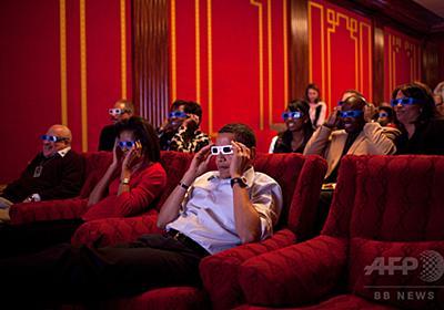 ホワイトハウス内の「映画館」を一般公開 メラニア夫人が主導 写真3枚 国際ニュース:AFPBB News