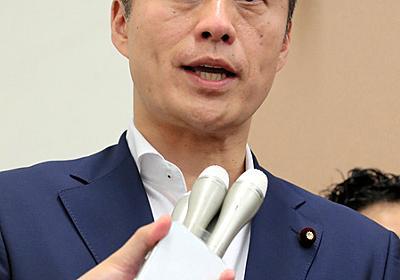 細野氏「二階先生の手足となって働きたい」:朝日新聞デジタル