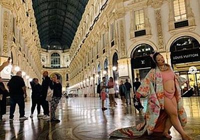 痛いニュース(ノ∀`) : 【画像】ゆりやんレトリィバァが水着+着物姿でミラノを歩く姿に「日本の恥!」と批判殺到 - ライブドアブログ