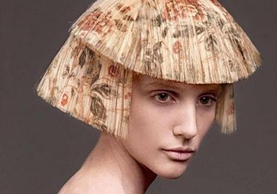 ヘアカラーも進化する。デジタルプリントで髪に模様をつける時代がすぐそこに : カラパイア