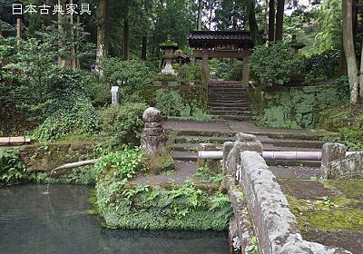 侘び、さび、幽玄、鎌倉石が時を刻む。浄智寺 | 日本古典家具 家具とデザインの日々