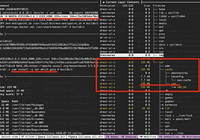 Dockerイメージ分析ツール「dive」を利用してDockerイメージを軽量化する - 🤖