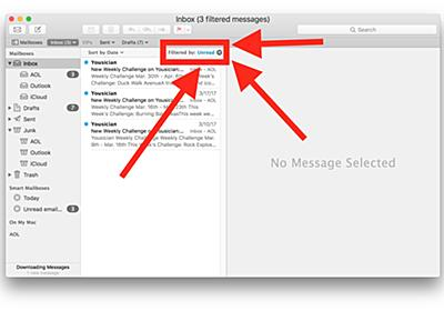 How to Use the Unread Email Filter on Mail for Mac