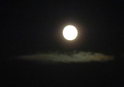 月が綺麗な日にはきっと良いことがあります。空は見れてますか? – おれのいきたじかん