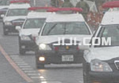 習主席警護の車両横転=要人にけがなし-阪神高速:時事ドットコム