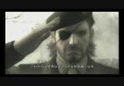 【PSP】METAL GEAR SOLID PEACE WALKER TOKYO GAME SHOW 2009 TRAILER