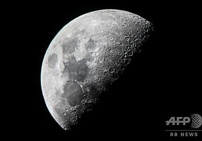 月面の水、想定より大量に存在か 新たな観測結果 写真3枚 国際ニュース:AFPBB News
