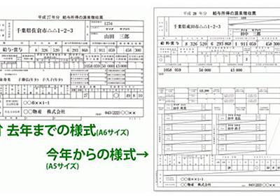 リニューアルされた源泉徴収票の見方、ご存じですか? | ZUU online