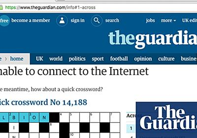 Building an offline page for theguardian.com | Info | The Guardian