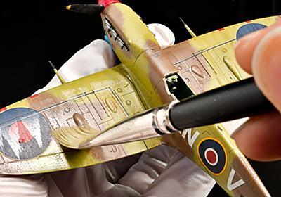 筆塗りで飛行機模型を楽しむぞ!/ウェザリングカラー「2色」が導く最高のノーサイド!! | nippper ニッパーを握るすべての人と、モケイの楽しさをシェアするサイト