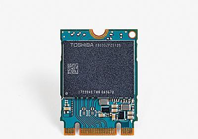 """新生""""東芝ブランド""""のSSD戦略を開発陣に聞く ~NANDとコントローラの1パッケージ化とメインメモリキャッシュがもたらす変革 - PC Watch"""