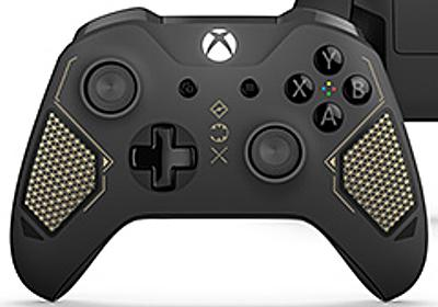 Microsoft,ミリタリー&SFモチーフの新ゲームパッドシリーズ「Xbox Wireless Controller Tech Series」を発表。第1弾は4月25日に登場 - 4Gamer.net