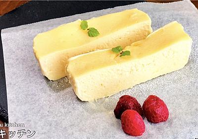 電子レンジで2分30秒!世界一簡単なチーズケーキの作り方! - てぬキッチン