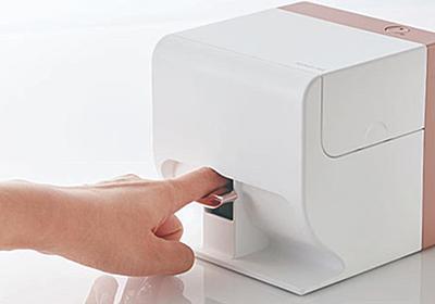 「指を入れるだけ」でネイルが印刷できるデジタルネイルプリンター「PriNail」|FINDERS